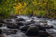 Sedona Arizona U.S.A. un giorno piovoso dell'autunno Immagine Stock Libera da Diritti