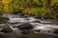 Sedona Arizona U.S.A. un giorno piovoso dell'autunno Fotografia Stock