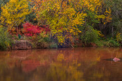 Sedona Arizona U.S.A. un giorno piovoso dell'autunno Fotografie Stock