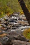 Sedona Arizona USA an einem regnerischen Fall-Tag Lizenzfreies Stockfoto