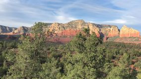 Sedona, Arizona, USA landscape scenic view. Sedona, Arizona, USA landscape scenic canyon view stock video footage