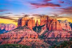 Sedona, Arizona, USA. At Red Rock State Park stock image