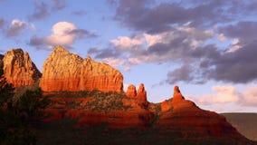 Sedona Arizona vaggar bildande, zoomar in