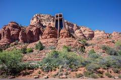 Sedona, AZ, ΗΠΑ στις 5 Ιουλίου 2016  Το παρεκκλησι του ιερού σταυρού Στοκ Εικόνα