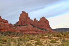 Sedona AZ-红色岩石 库存图片