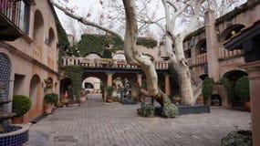 SEDONA, AZ, FEB 9: The buildings of Tlaquepaque, February 9, 201 Stock Images
