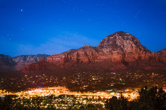 Sedona AZ Night Stock Photos