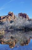 Sedona,AZ,USA,Cresent Moon Rock. Royalty Free Stock Photo