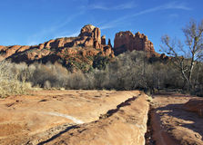 Sedona,AZ,USA,Cresent Moon Rock Stock Photo