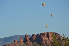 Sedona ballonger Arkivfoto