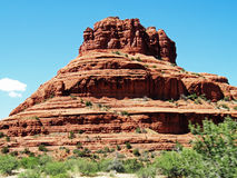 Sedona Bell rock. View from side Royalty Free Stock Photo