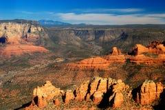 Sedona and the canyon stock photos