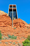 Sedona church Stock Photography