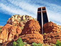 Sedona churh Royalty-vrije Stock Foto