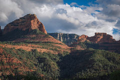 Sedona and clouds Royalty Free Stock Photography