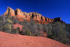 Sedona Country. The natural colored rock of Sedona Country in Arizona Royalty Free Stock Photos