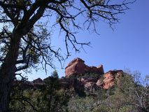 sedona de gorge de boynton de l'Arizona Photo stock