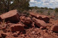 Sedona, de rotsvorming van Arizona Royalty-vrije Stock Afbeeldingen
