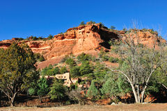 Sedona desert Stock Photo