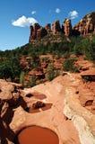Sedona di paesaggio della natura della roccia Fotografia Stock Libera da Diritti