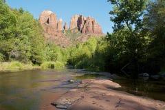 sedona för arizona domkyrkarock Arkivbilder