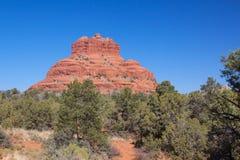 sedona för arizona klockarock Arkivfoton