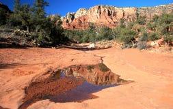 sedona för rock för arizona berg röd Fotografering för Bildbyråer