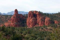 Sedona, formazione rocciosa dell'Arizona Fotografie Stock Libere da Diritti