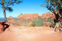 Sedona, grès rouge, az, Etats-Unis image stock