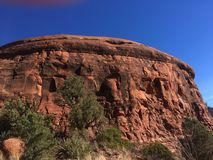 Sedona Hiking Trail Bell. Sedona hiking trail in Arizona red rocks Stock Image
