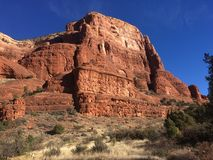 Sedona Hiking Trail Bell. Sedona hiking trail in Arizona red rocks Royalty Free Stock Photography