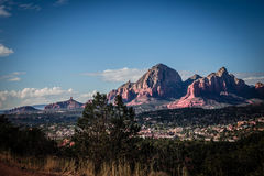 Sedona Hills. Sedona is a travel destination for many seeking a spiritual vortex Stock Image