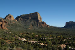 Sedona Homes Royalty Free Stock Photo