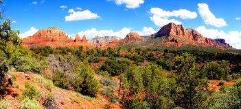 Sedona landscape panorama Stock Images
