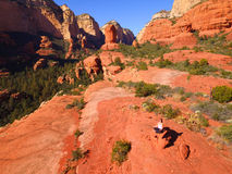 Sedona Meditation Stock Photos
