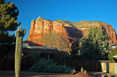 Sedona Mesa Late Afternoon Stock Photography