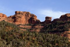 Sedona Mountain Royalty Free Stock Photography
