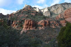 Sedona Mountain. Autumn Mountains in Sedona, Arizona Royalty Free Stock Images
