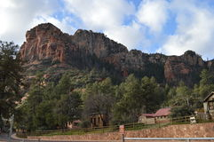 Sedona Mountain. Autumn Mountains in Sedona, Arizona Stock Photo