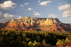 Sedona Mountains at Sunset Royalty Free Stock Photography