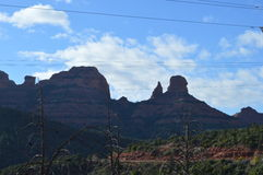 Sedona Mountains. Autumn Scene  in Sedona, Arizona Stock Photography