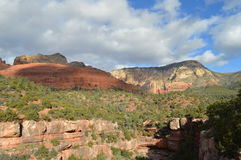 Sedona Mountains. Autumn Scene  in Sedona, Arizona Stock Photo