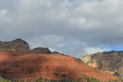 Sedona Mountains. Autumn Scene  in Sedona, Arizona Stock Photos