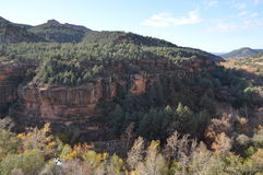 Sedona Mountains. Autumn Scene  in Sedona, Arizona Stock Image