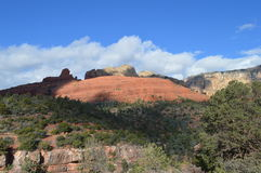 Sedona Mountains. Autumn Scene  in Sedona, Arizona Royalty Free Stock Photography