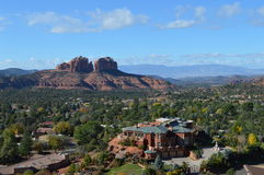 Sedona Mountains. Autumn Scene  in Sedona, Arizona Royalty Free Stock Image