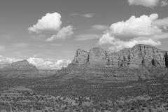 Sedona - nubes majestuosas Fotos de archivo