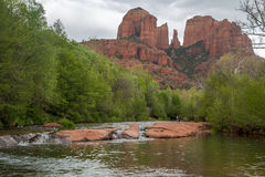 Sedona and Oak Creek Canyon Landscapes in spring Royalty Free Stock Photo