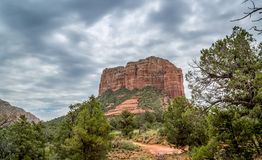 Sedona and Oak Creek Canyon Lanscapes. Red rocks of Sedona and Oak Creek Canyon stock photo