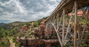 Sedona and Oak Creek Canyon Lanscapes. Red rocks of Sedona and Oak Creek Canyon stock image